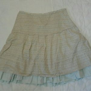 American Eagle Outfitter Layered Cotton Skirt